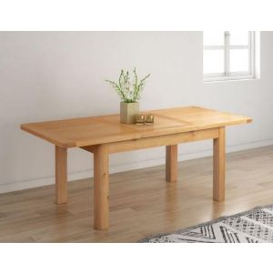 Cambridge Oak 140/200cm Butterfly Ext Dining Table
