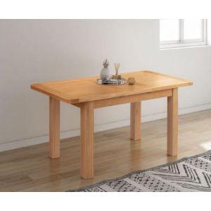 Cambridge Oak 120/153cm Extending Dining Table