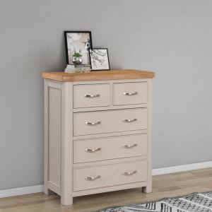Cambridge Painted 2 Over 3 Chest of Drawers
