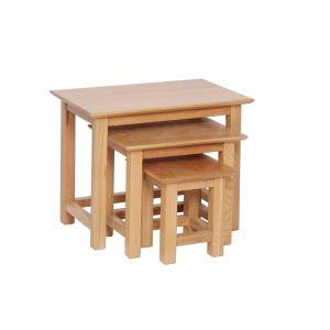 Lindale Oak Nest of Tables