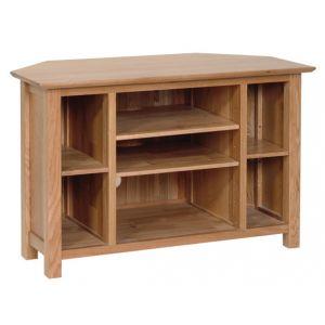 Lindale Oak Corner TV Cabinet