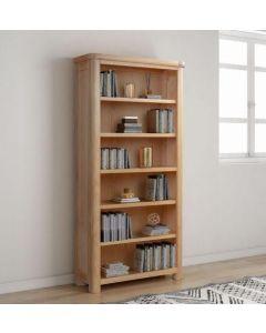 Cambridge Oak  6ft Bookcase