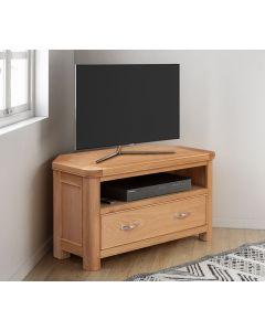 Cambridge Oak Corner TV Unit