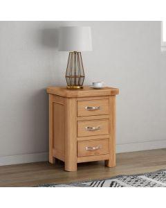 Cambridge Oak Bedside Cabinet
