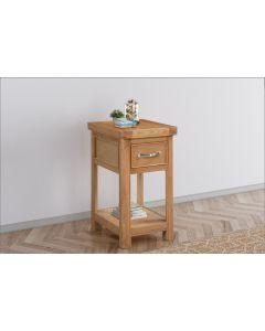 Cambridge Oak Small Bedside Cabinet