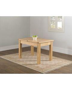 Vogue Light Oak 120 x 80 Extension Table