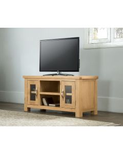 Vogue Light Oak Large TV Unit