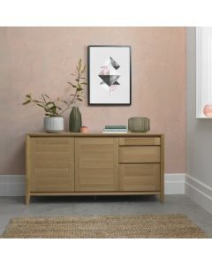 Bergen Oak Wide Sideboard