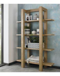 Gemini Light Oak Open Shelf Unit
