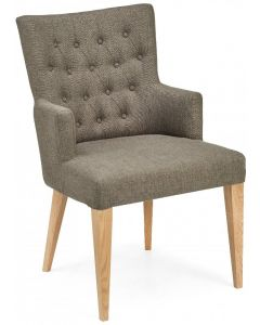 High Park Armchair in Black Gold Fabric ( PAIR )
