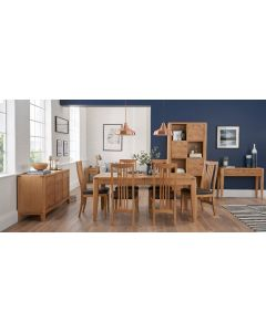 CLEARANCE High Park Extending  Table 4 - 6 Seat Dining Set