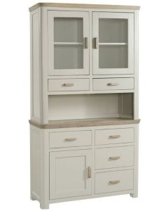 Trieste Small Buffet Hutch-Stone Painted