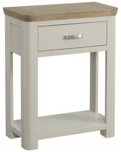 Trieste Small Console Table-Stone Painted