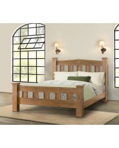 Havana Oak  Bed in Two Sizes