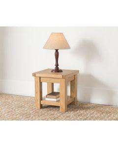 Vogue Light Oak Lamp Table