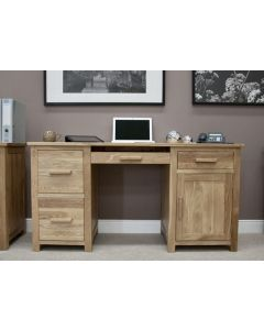 Crown Double Pedestal Home Office Desk