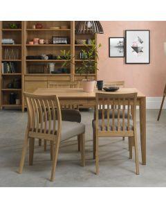 Bergen Oak Extending Dining Table - 2 Sizes