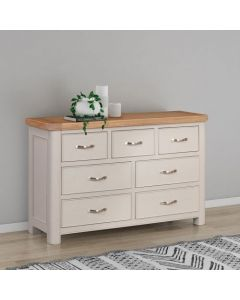 Cambridge Painted 3 Over 4 Chest of Drawers