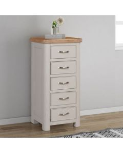 Cambridge Painted 5 Drawer Tall Chest