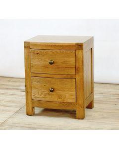 Ventura 2 Drawer Bedside Cabinet