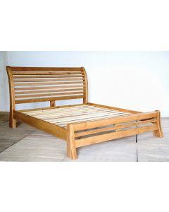 "Ventura Sleigh Bed - Low Foot End-4' 0"""