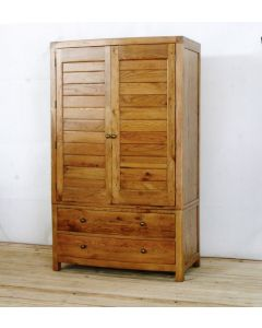 Ventura Wardrobe with Two Drawers