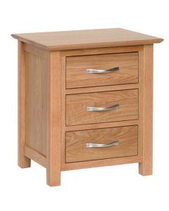 Lindale Oak Bedside Cabinet