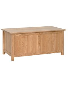Lindale Oak Blanket Box