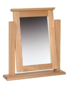 Lindale Oak Dressing Table Mirror