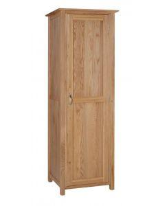 Lindale Oak Single Wardrobe