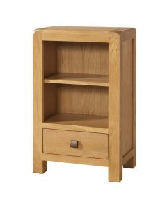 Avalon Low Bookcase with Drawer
