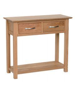 Lindale Oak Standard Console Table