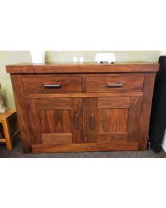 Premier Walnut 2 door, 2 drawer sideboard