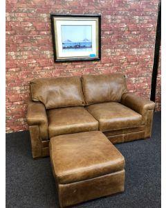 Cerato Leather Sofa and Stool