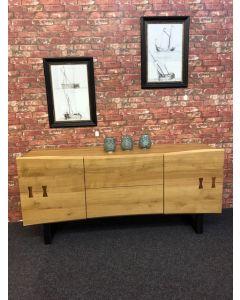 Solid Oak Contemporary Sideboard