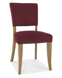 Indus Dining Chair Velvet Fabric ( PAIR )- In 4 Colours