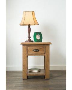 Havana Oak Lamp Table