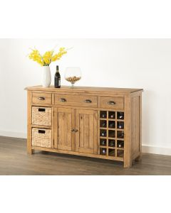 Havana Oak Large Sideboard