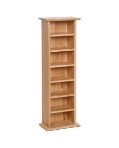 Lindale Oak CD/DVD Rack