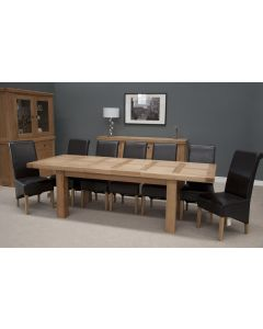 Premier Oak Grand Dining Table