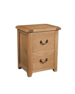 Canterbury Oak Filing Cabinet