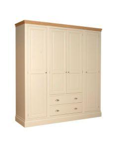 Lincoln Quad Wardrobe