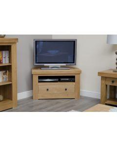 Premier Oak Corner TV Unit