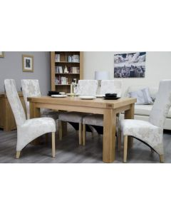 Premier Oak Fixed Top Dining Table 5' x 3'