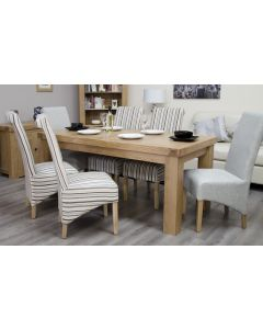 Premier Oak Fixed Top Dining Table 6' x 3'