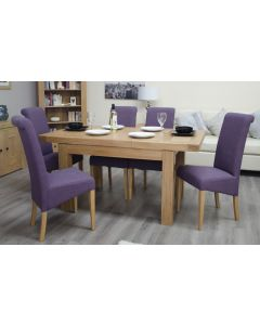 Premier Oak Small Extending Dining Table