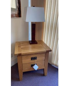 Verona 1 Drawer Lamp Table